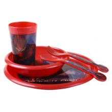 BANQUET Kinder Tafelset Spiderman 1207SP37400