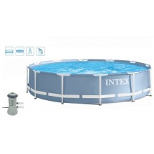 INTEX PRISM FRAME POOL 457x84, 28728GN