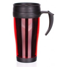BANQUET Slim Red Thermobecher 400 ml, 48TRPP01R
