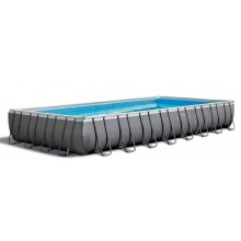 INTEX ULTRA Rectangular Frame Pools Set 7,23 x 3,66 x 1,32 26364GN