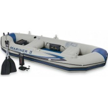 INTEX 3 Personen Boot-Set Mariner 3 68373NP