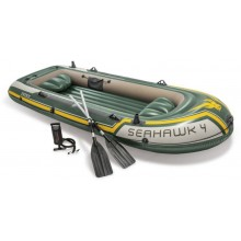 INTEX Boot Seahawk Schlauchboot 4 SET 351x145 x 48 cm 68351NP