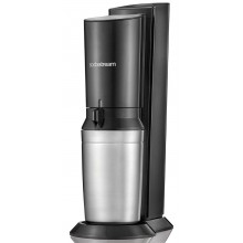 SodaStreamCrystal Black / Metall Wassermacher