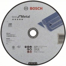 Bosch gerade Best for Metal 230x1,5mm 2608603530