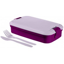 CURVER LUNCH & GO Lunchbox 32 x 13 x 7 cm violet 00768-B35