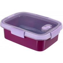 CURVER SMART TO GO 1L Lunchbox + Besteck 20x15x7cm violett 00946-Y34