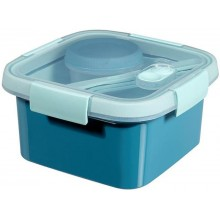 CURVER SMART TO GO 1,1L Lunch Box 16x16x9cm blau 00950-Y33