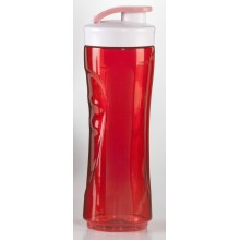 DOMO Trinkflasche 600ml, rot DO434BL-BG