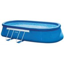 INTEX OVAL FRAME POOL 5,49 x 3,05 x 1,07 m Filterpumpe 26192GN