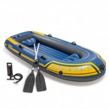 INTEX Schlauchboot Set Challenger 3 blau 295 x 137 x 43 cm 68370