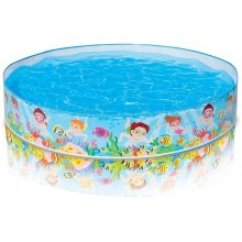 INTEX Quick Snap-Pool Unterwasserwelt 152 x 25 cm 56451NP