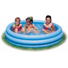 INTEX 3-Ring-Pool Crystal Blue O 114 x 25 cm, 59416NP