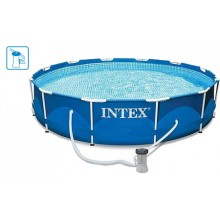 INTEX Swimming Pool Metal Frame 305x76 cm, 28202NP