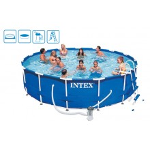 INTEX Metal Frame Pool Komplett 457x84 28228 28228GN