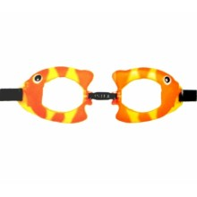 INTEX FUN GOGGLES Schwimmbrille für Kinder, orange 55603