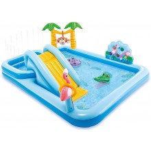 INTEX Play Center Jungle Adventure Planschbecken Pool Wasserrutsche aufblasbar 57161