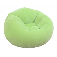INTEX BEANLESS BAG CHAIR Luftsessel 107 x 104 x 69 cm, grün 68569