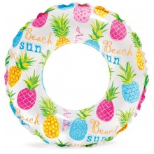INTEX Lively Schwimmring pineapple 61 cm 59241NP