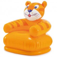 INTEX HAPPY ANIMAL CHAIR Kinderstuhl 66 x 64 x 66 cm, Tiger 68556
