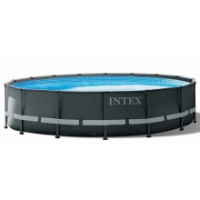 INTEX ULTRA FRAME POOLS SET 4,88 m X 1,22 m mit Sandfilterpumpe
