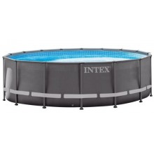 INTEX ULTRA FRAME POOLS SET 7,32 X 1,32 m mit Sandfilteranlage 26340GN