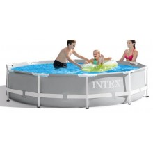 INTEX Prism Frame Pools 3.66m x 0.76m, mit Filteranlage 26712GN