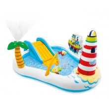 INTEX Fishing Fun Play Center Aufblasbares Kinderpool Kinderbecken 57162NP