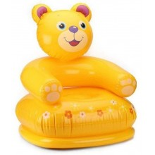 INTEX HAPPY ANIMAL CHAIR Kinderstuhl 65 x 64 x 74 cm, Bär 68556
