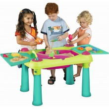 KETER CREATIVE FUN TABLE Kinderspieltisch, grün/lila 17184058