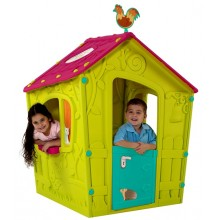 KETER MAGIC PLAYHOUSE Kinderspielhaus grün/viollet 17185442