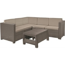 KETER PROVENCE Loungeecke Sitzgruppe, cappuccino/sand 17204454