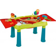 KETER CREATIVE FUN TABLE Kinderspieltisch türkis/grün/rot 17184058