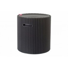 KETER Cool Stool Kühlbox, 43,7 x 43,7 x 44,3 cm, braun 17200045