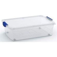 KIS SPINNING LATCH BOX M 30L 59x39x17cm transparent