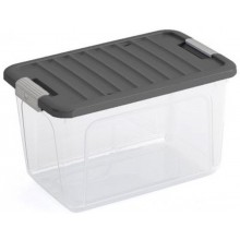 KIS W BOX S 15L 38x25x23cm Transparent/Grau