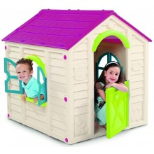 KETER RANCHO Kinderspielhaus, creme/lila 17609669