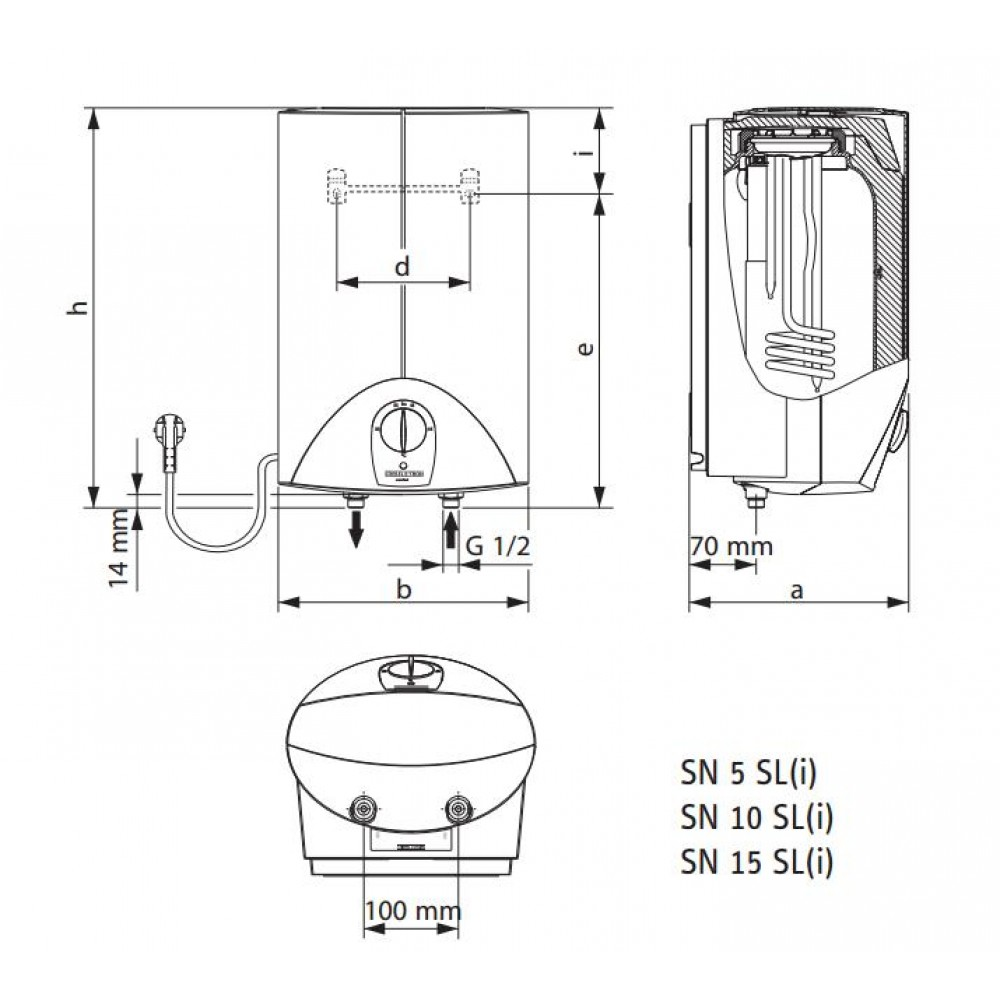 stiebel eltron kleinspeicher snu 5 sl waschtischarmatur mae w 222172. Black Bedroom Furniture Sets. Home Design Ideas