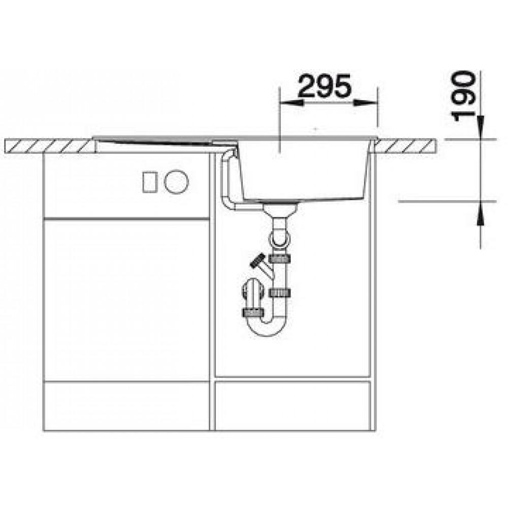 Blanco metra 5 s anthrazit silgranit puradur ii ohne for Blanco silgranit anthrazit