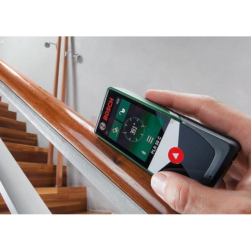 Bosch Laser Entfernungsmesser : bosch plr 50 c digitaler laser entfernungsmesser 0603672221 ~ Watch28wear.com Haus und Dekorationen