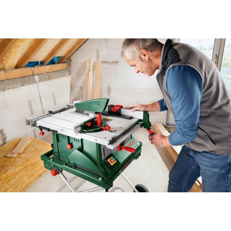 bosch pts 10 t tischkreiss ge mit untergestell 0603b03401. Black Bedroom Furniture Sets. Home Design Ideas