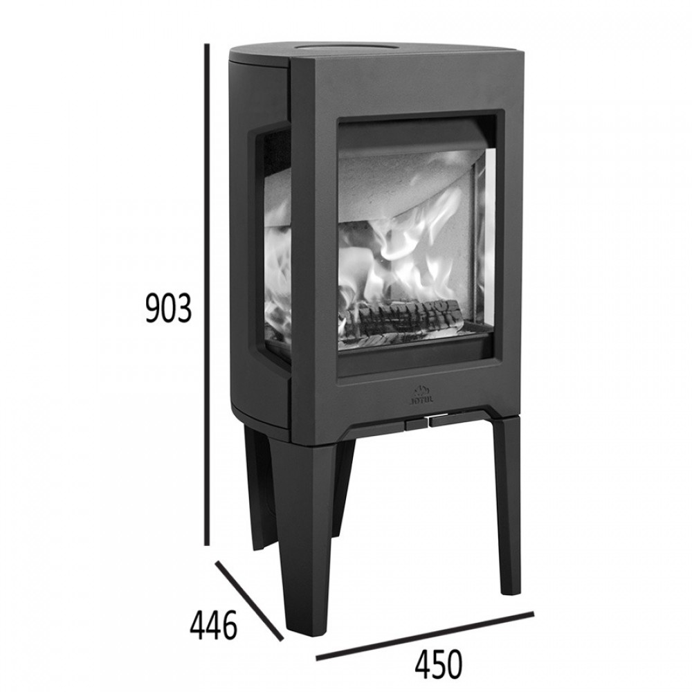 jotul f 163 cb kaminofen wei er emaille 351272. Black Bedroom Furniture Sets. Home Design Ideas