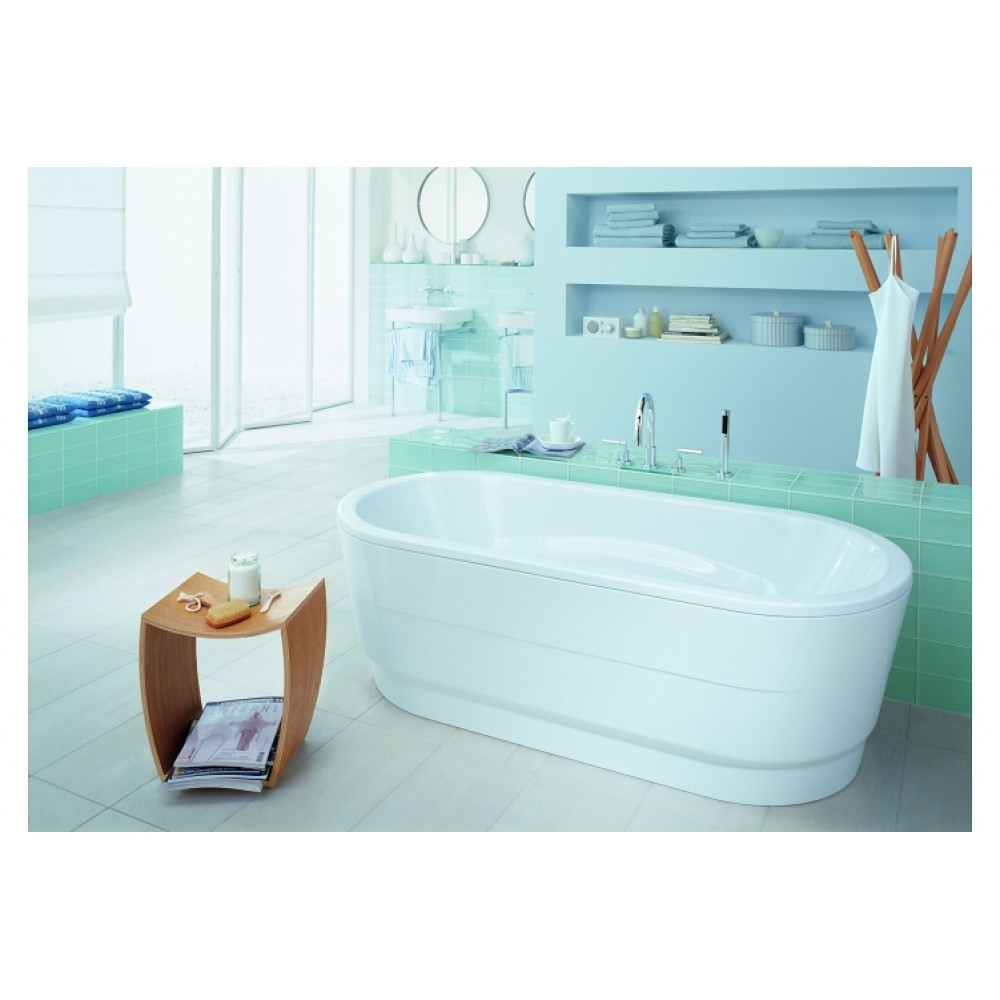 kaldewei badewanne vaio duo oval 951 180x80x43 vollantislip. Black Bedroom Furniture Sets. Home Design Ideas