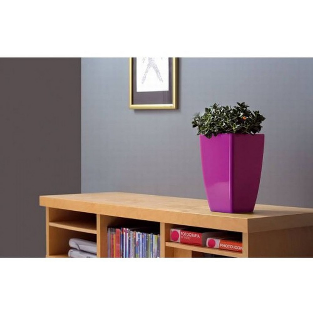 pflanzk bel coubi blumentopf pflanzbeh lter mit einsatz viereckig 10l gr n duw200. Black Bedroom Furniture Sets. Home Design Ideas