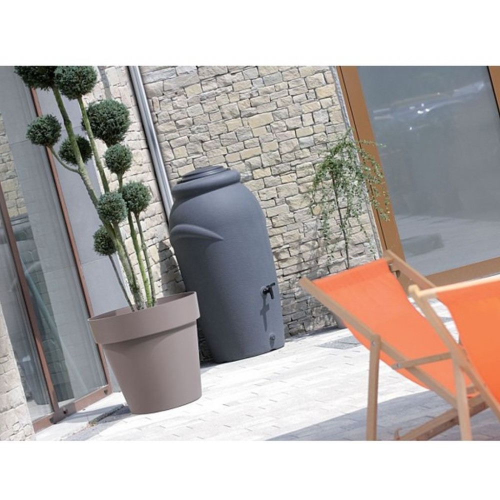 aquacan baby regenwassertonne 210 l anthrazit. Black Bedroom Furniture Sets. Home Design Ideas